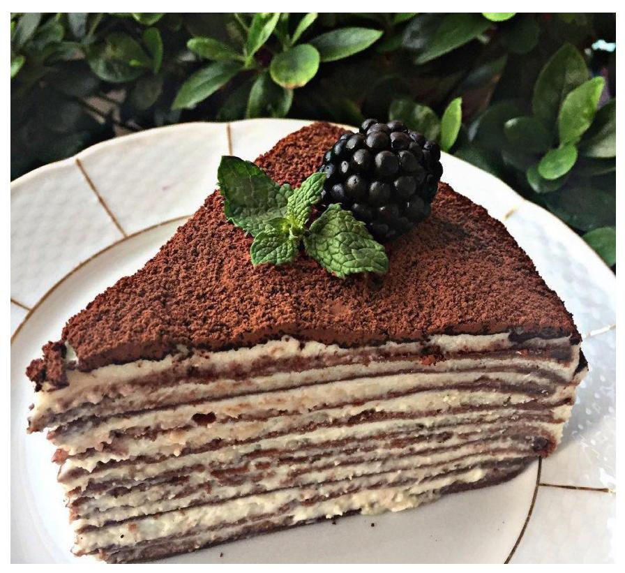 Оформление блинного торта рецепты с фото